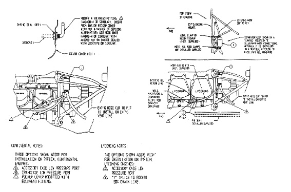 Installation Instructions M 20 Crankcase Breather Air Oil